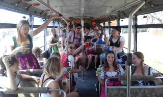 party bus brisbane