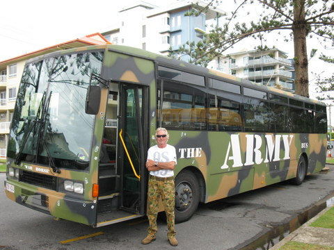 ARMY bus brisbane