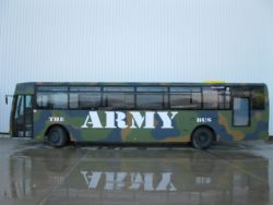 the army bus